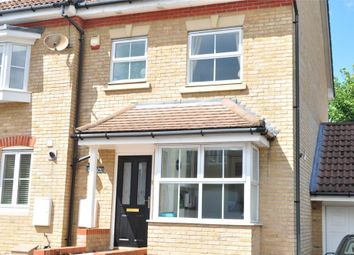 Parkside Place, Staines-Upon-Thames, Surrey TW18. 4 bed end terrace house for sale