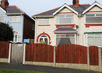 Thumbnail 3 bed semi-detached house to rent in Garstang Road West, Blackpool