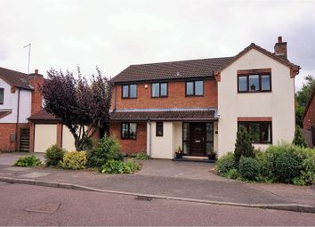 Thumbnail 5 bed detached house for sale in Pyghtle Way, East Hunsbury, Northampton