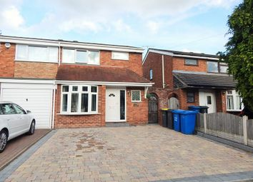 Thumbnail 3 bed semi-detached house for sale in Avon Road, Burntwood
