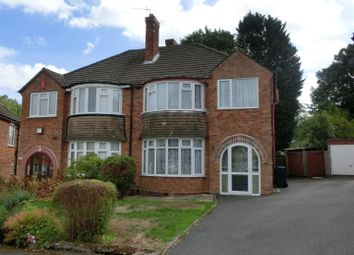 Thumbnail 3 bed semi-detached house for sale in Stoneyford Grove, Yardley Wood, Birmingham
