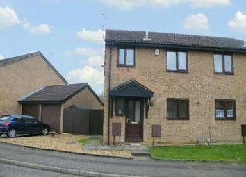 Thumbnail 3 bedroom semi-detached house to rent in Hadrians Court, Fletton, Peterborough