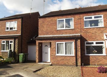 Thumbnail 2 bed semi-detached house to rent in Melrose Close, Off Fourth Avenue, York