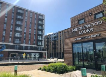 Thumbnail 2 bed flat to rent in Middlewood Locks, 1 Lockgate Square, Salford