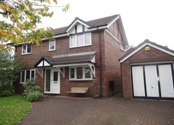 Thumbnail 4 bed detached house to rent in Easton Close, Fulwood, Preston