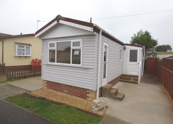 Thumbnail 1 bed mobile/park home for sale in St. Hermans Caravan Estate, Hayling Island