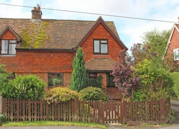 Thumbnail 3 bed semi-detached house for sale in Church Road, Kings Somborne, Stockbridge