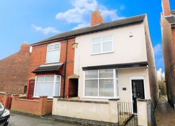 Thumbnail 3 bed semi-detached house for sale in Crescent Road, Hugglescote, Coalville