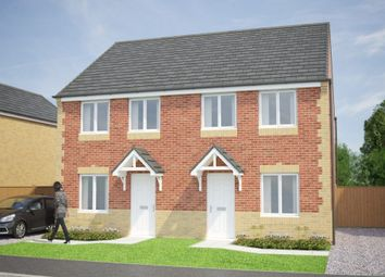 Thumbnail 3 bedroom semi-detached house for sale in Model Village, Creswell, Worksop