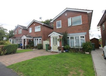 Thumbnail 4 bed detached house for sale in Dunster Drive, Urmston, Manchester