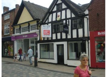 Thumbnail Retail premises to let in 22-24, High Street, Uttoxeter, Staffordshire, UK