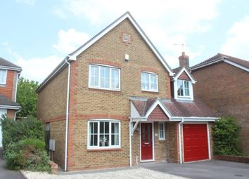 Thumbnail 4 bed detached house for sale in Hartley Way, Hampton Park, Salisbury