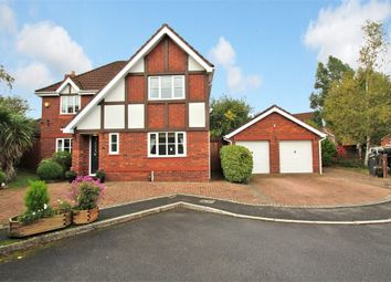 Thumbnail 4 bed detached house for sale in Burwell Close, Pontprennau, Cardiff