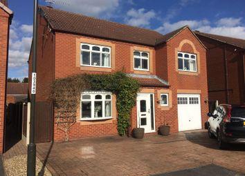 Weavers Close, Borrowash, Derby DE72. 4 bed detached house for sale