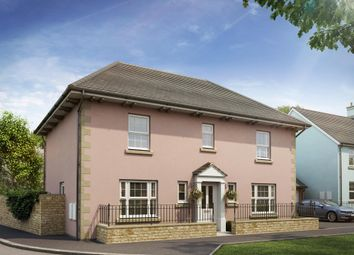 "Thumbnail 4 bedroom detached house for sale in ""Oakhampton"" at Bevans Lane, Pontrhydyrun, Cwmbran"