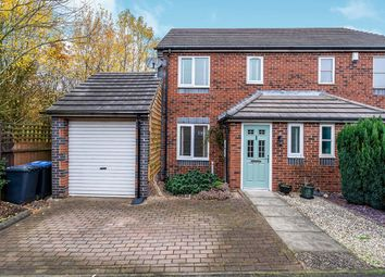 Thumbnail 3 bed semi-detached house for sale in Durham Close, Bagworth, Coalville