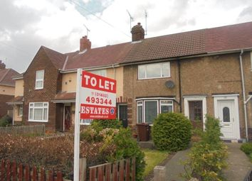 Thumbnail 2 bed terraced house to rent in Endike Lane, Hull