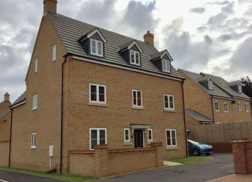 Thumbnail 5 bed detached house for sale in Scarsdale Way, Grantham, Lincolnshire