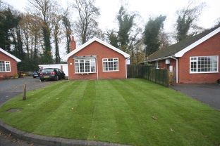 Thumbnail 2 bed bungalow to rent in Newall Hall Park, Otley