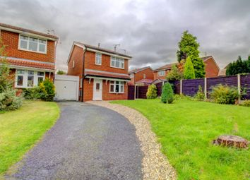 Thumbnail 3 bed detached house for sale in Wrington Close, Leigh