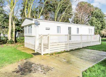 Thumbnail 2 bed mobile/park home for sale in Broadlands Caravan Park, Corton, Lowestoft