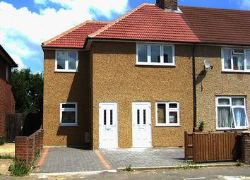 Thumbnail 1 bed flat to rent in Valence Wood Road, Dagenham