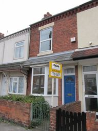 Thumbnail 3 bed terraced house to rent in Charlotte Road, Stirchley, Birmingham