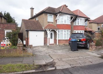 Thumbnail 3 bed semi-detached house for sale in Derwent Gardens, Wembley, Middlesex