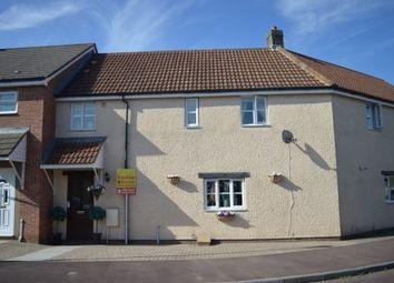 Thumbnail 3 bed terraced house for sale in Elborough Gardens, Elborough Village, Weston-Super-Mare