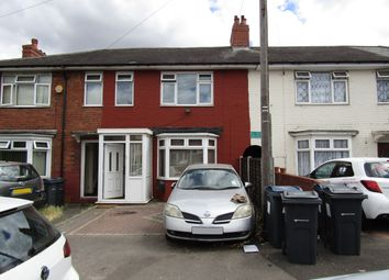 Thumbnail 3 bed terraced house to rent in Shaw Hill Grove, Alum Rock, Birmingham