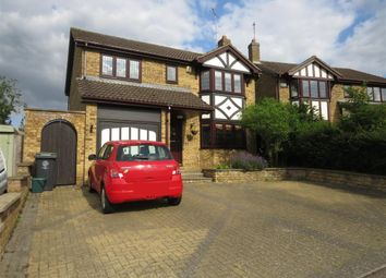 Thumbnail 4 bedroom detached house for sale in Burystead Rise, Raunds, Wellingborough
