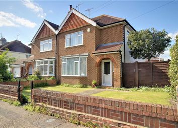 Thumbnail 3 bed semi-detached house for sale in Broadwater Way, Broadwater, Worthing, West Sussex