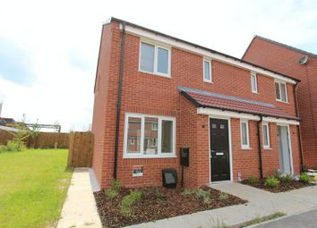 Thumbnail 3 bed terraced house for sale in Upton Drive, Burton-On-Trent