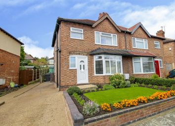 Thumbnail 3 bed semi-detached house for sale in Robinet Road, Beeston, Nottingham