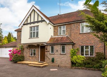 Thumbnail 4 bed detached house for sale in Woodhurst Lane, Oxted, Surrey