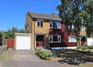 Thumbnail 3 bed semi-detached house for sale in Jerome Drive, St.Albans