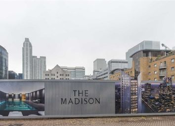 Thumbnail  Studio for sale in The Madison, Canary Wharf, London