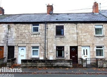 Thumbnail 2 bed terraced house to rent in Park Road, Ruthin