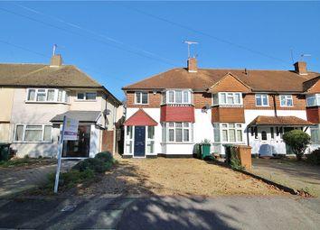 Thumbnail 3 bed end terrace house for sale in Heathcroft Avenue, Sunbury-On-Thames, Surrey