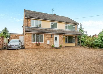 Thumbnail 4 bed detached house for sale in East Delph, Whittlesey, Peterborough