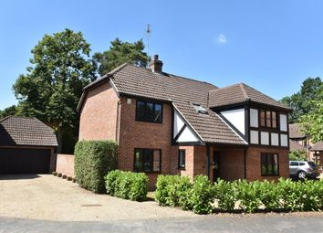 Thumbnail 5 bed detached house for sale in Napier Drive, Camberley