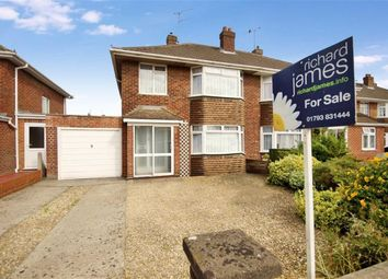 Thumbnail 3 bed semi-detached house for sale in Grange Drive, Stratton, Wilts