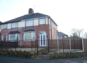 Thumbnail 3 bed semi-detached house to rent in Stross Avenue, Tunstall, Stoke-On-Trent