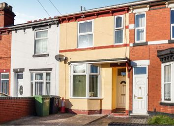 Thumbnail 3 bed terraced house for sale in Bolton Road, Wolverhampton