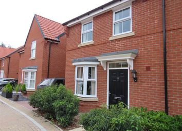 Thumbnail 3 bed semi-detached house to rent in Franklin Road, Saxmundham