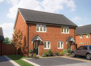 """Thumbnail 2 bedroom end terrace house for sale in """"The Harcourt"""" at Bovis Homes, Melton Road, Edwalton"""
