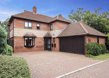 Thumbnail 4 bed detached house for sale in Oakley Gardens, Downhead Park, Milton Keynes, Bucks