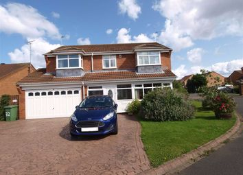 Thumbnail 5 bed detached house for sale in Dunsdale Drive, Cramlington
