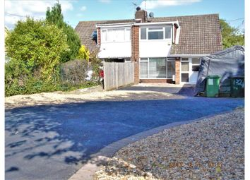 Thumbnail 3 bedroom semi-detached house for sale in Roman Road, Basingstoke