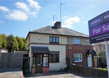 Thumbnail 2 bedroom semi-detached house for sale in Worcester Road, Dudley